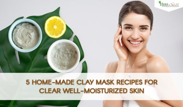 clay face mask