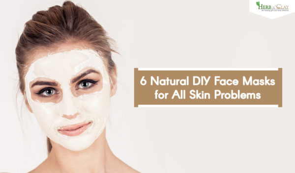 6 Natural DIY Face Masks for All Skin Problems
