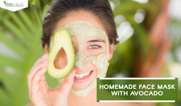 Homemade Face Mask with Avocado