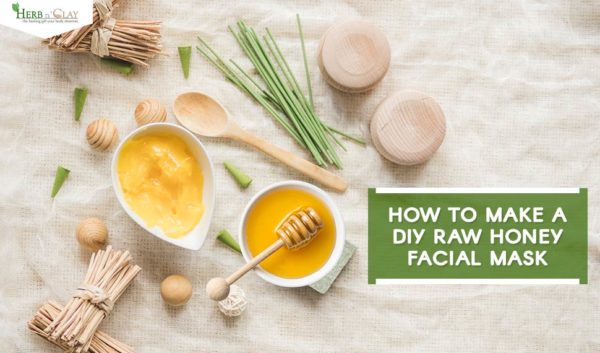 raw honey facial mask