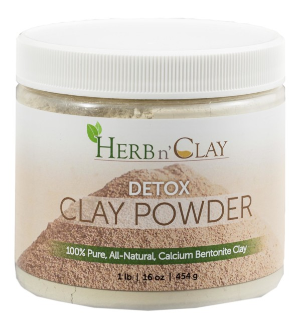 1 lb Detox Clay Powder