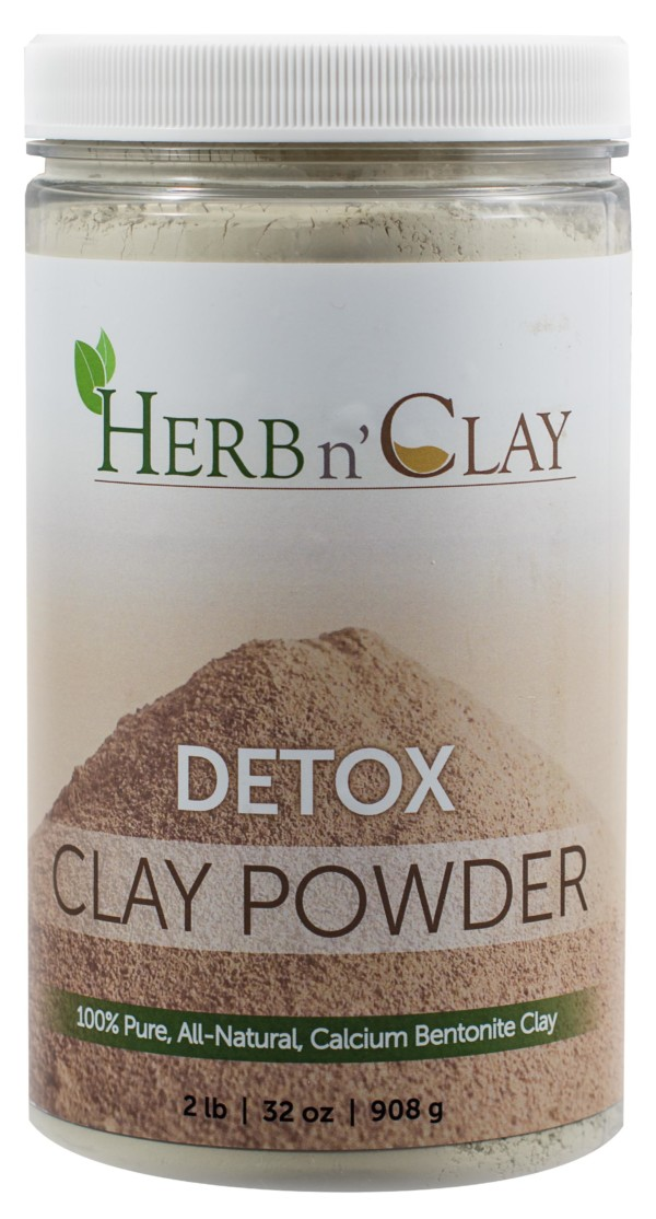 2 lb Detox Clay Powder